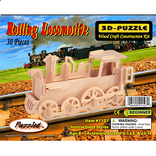 Rolling Locomotive - 3D Wooden Puzzle - Search Results