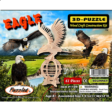 Eagle - 3D Wooden Puzzle - Jigsaws