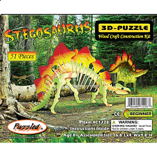 Stegosaurus - Illuminated 3D Wooden Puzzle - Search Results