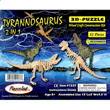 Tyrannosaurus 2 in 1 - 3D Wooden Puzzle - Search Results
