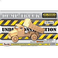 Dump Truck - 3D Wooden Puzzle - Search Results