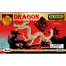 Dragon - Medium - 3D Wooden Puzzle -
