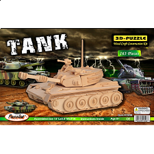 Tank - 3D Wooden Puzzle - Jigsaws