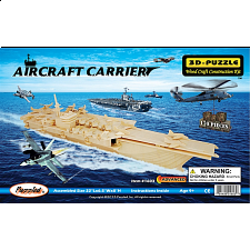 Aircraft Carrier - 3D Wooden Puzzle