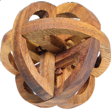 XS HeadStress - Spheroid - Wood Puzzles
