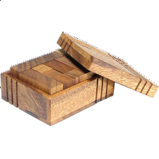 XS HeadStress - Casket - Wood Puzzles