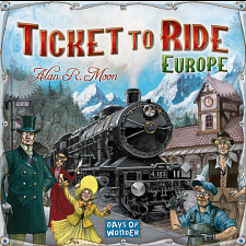 Ticket To Ride: Europe - Games & Toys