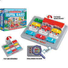 Outta Gas - Sliding Pieces Puzzles