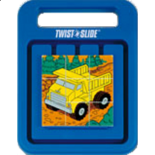 Twist 'n Slide - Dump Truck - Sliding Pieces Puzzles