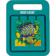 Twist 'n Slide - Tropical Fish - Sliding Pieces Puzzles