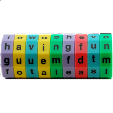 Magnetic Letter Wheel - Lower - Other Misc Puzzles