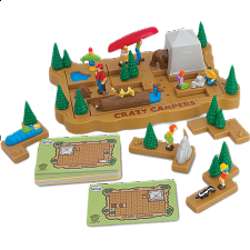 Crazy Campers - Sliding Pieces Puzzles
