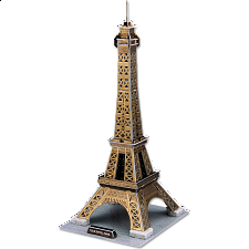 Eiffel Tower - 3D Jigsaw Puzzle - 3D