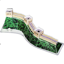 Great Wall - 3D Jigsaw Puzzle - 1-100 Pieces