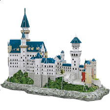 Neuschwanstein Castle - 3D Jigsaw Puzzle - 1-100 Pieces