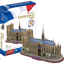 Notre-Dame de Paris - 3D Jigsaw Puzzle - Search Results