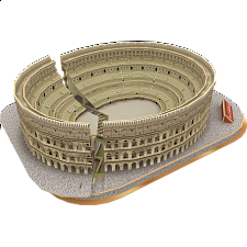 Colosseum - 3D Jigsaw Puzzle - 1-100 Pieces