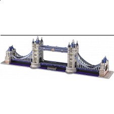 London Tower Bridge - 3D Jigsaw Puzzles - 101-499 Pieces