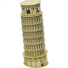 Leaning Tower of Pisa - 3D Jigsaw Puzzle - 3D