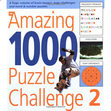 The Amazing 1000 Puzzle Challenge 2 - book - Brain Teaser