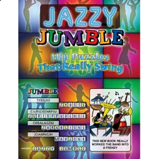 Jazzy Jumble - book - Puzzle Books