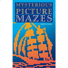 Mysterious Picture Mazes - book