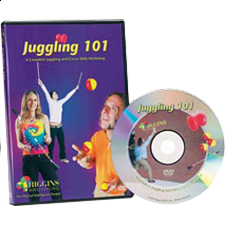 Higgins Bros. - Juggling 101 - DVD - Juggling Equipment