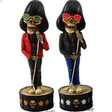 Skeleton Band - chessmen - Chess Pieces - Themed