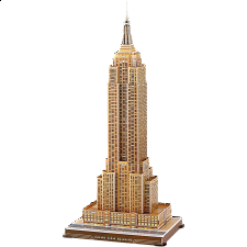 Empire State Building - 3D Jigsaw Puzzle - 1-100 Pieces