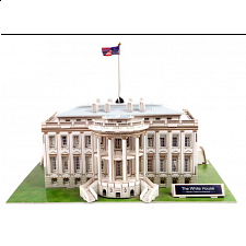 The White House - 3D Jigsaw Puzzle -