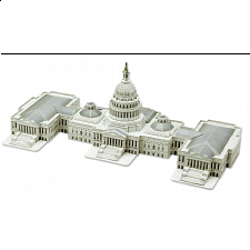 The U.S. Capitol - 3D Jigsaw Puzzle - 3D