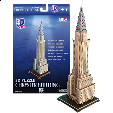 Chrysler Building - 3D Jigsaw Puzzle - Jigsaws