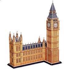 Big Ben - 3D Jigsaw Puzzle - 101-499 Pieces