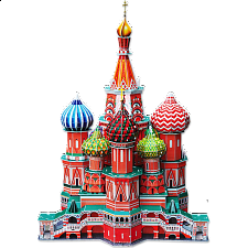 St. Basil's Cathedral - 3D Jigsaw - Search Results