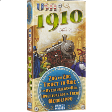 Ticket to Ride: USA 1910 Expansion - Games & Toys
