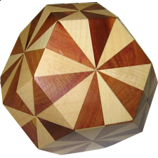 Truncocta Hexa 2 - European Wood Puzzles