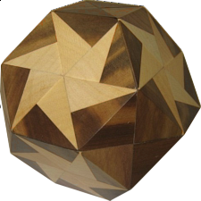 Truncocta Hexa 4 - European Wood Puzzles