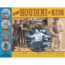 Harry Houdini for Kids - book -