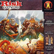 Risk: Godstorm - Board Games