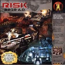 Risk 2210 A.D. - Board Games