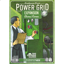 Power Grid Expansion China, Korea Game Boards - Board Games