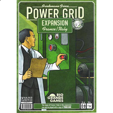 Power Grid Expansion France, Italy Game Boards - Board Games