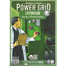 Power Grid Expansion Benelux, Central Europe Game Boards