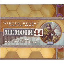 Memoir '44: Winter, Desert Map - Strategy Games