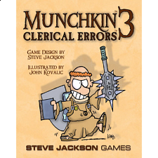Munchkin 3: Clerical Errors - Search Results