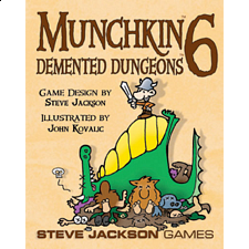 Munchkin 6: Demented Dungeons - Search Results