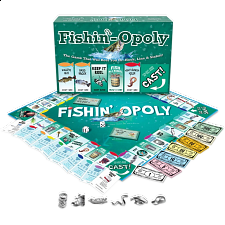 Fishin'-opoly - Board Games