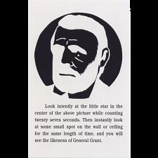 General Grant Puzzle - Trade Card -