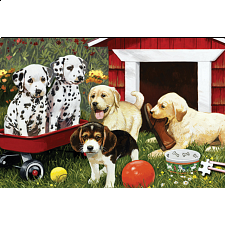 World's Smallest Jigsaw Puzzle - Puppy Playmates