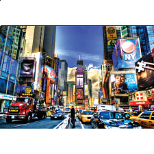 World's Smallest Jigsaw Puzzle - Times Square - World's Smallest Pieces